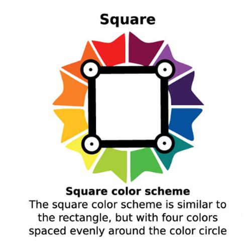 การจับคู่สี อลูมิเนียมคอมโพสิต แบบ Square