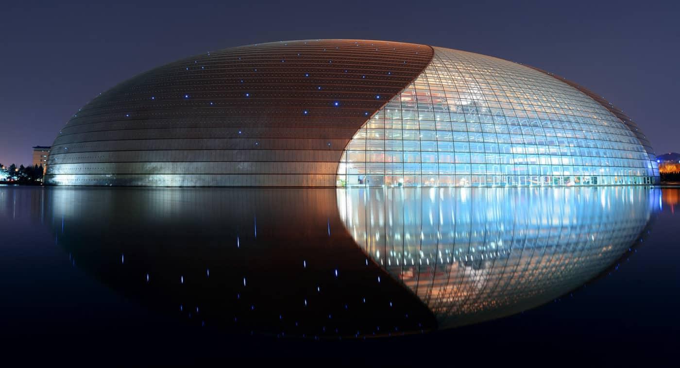 โรงละครแห่งชาติของจีน (National Centre for the Performing Arts)