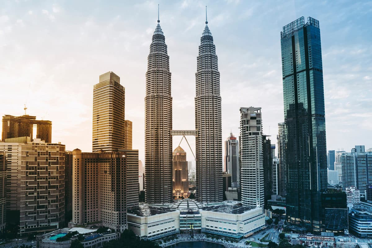 ตึก Petronas Towers (Petronas Twin Towers)